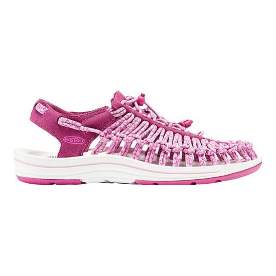 Women KEEN UNEEK ROUND CORD anemone/very berr Outlet Online