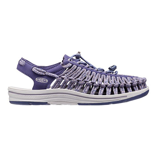 Cheap KEEN UNEEK ROUND CORD Women crown blue/purple sage Online