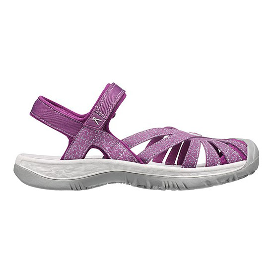 KEEN Women dark purple/purple sage ROSE SANDAL Outlet Store