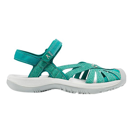 Women KEEN ROSE SANDAL everglade/malachite Outlet Online