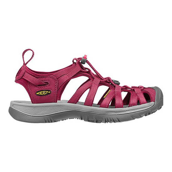 KEEN Women WHISPER beet red/honeysuckle On Sale
