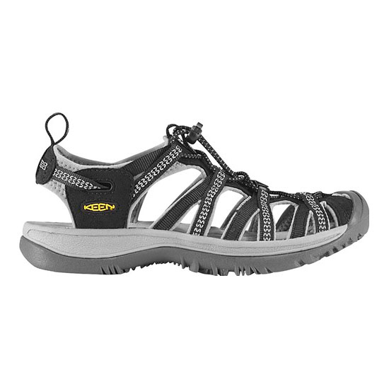 KEEN Women WHISPER black/neutral gray On Sale