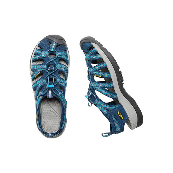 Women KEEN WHISPER poseidon/blue danube Outlet Online
