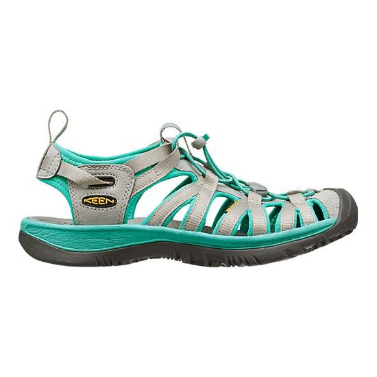KEEN Women neutral gray/lagoon WHISPER Outlet Store