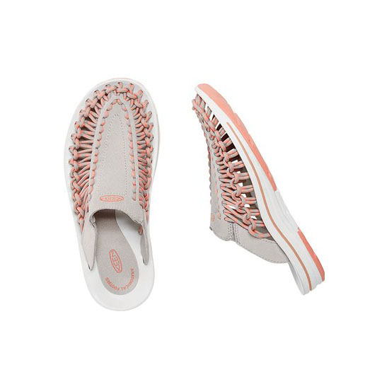 Women KEEN UNEEK SLIDE vapor/rose dawn Outlet Online