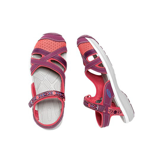 Women KEEN SAGE ANKLE dark purple/deep coral Outlet Online