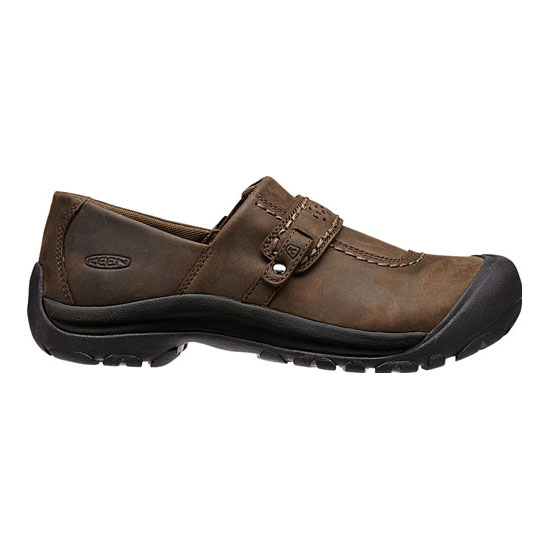 Women KEEN KACI FULL GRAIN SLIP-ON cascade brown Outlet Online