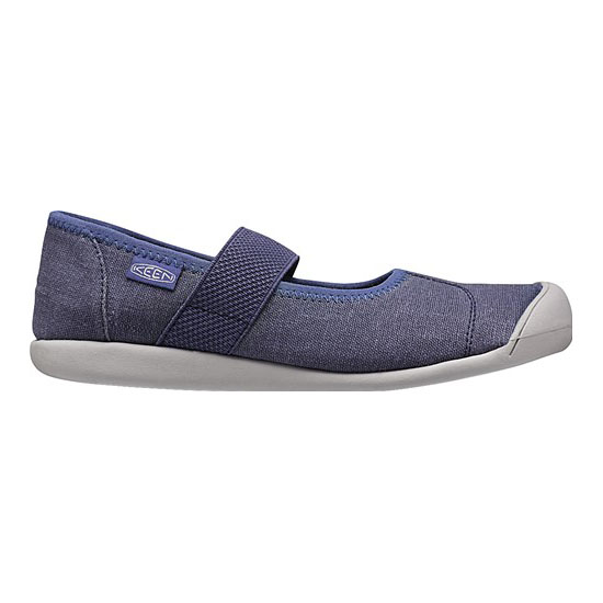 Women KEEN SIENNA MJ CANVAS crown blue Outlet Online
