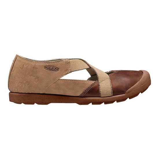 KEEN Women red brown/powder LOWER EAST SIDE MJ Outlet Store
