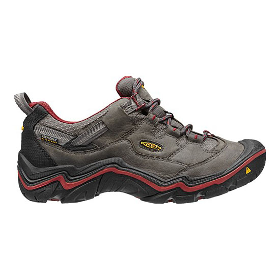 KEEN Women DURAND LOW WP magnet/red dahlia On Sale