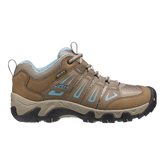 Cheap KEEN OAKRIDGE WATERPROOF Women shitake/stone blue Online