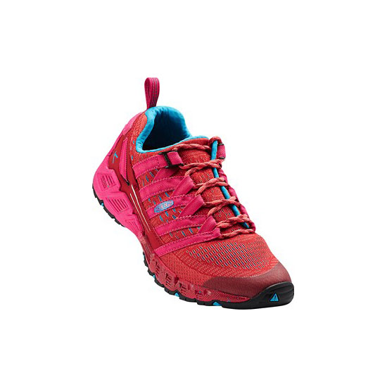 KEEN Women red dahlia/deep coral VERSAGO Outlet Store