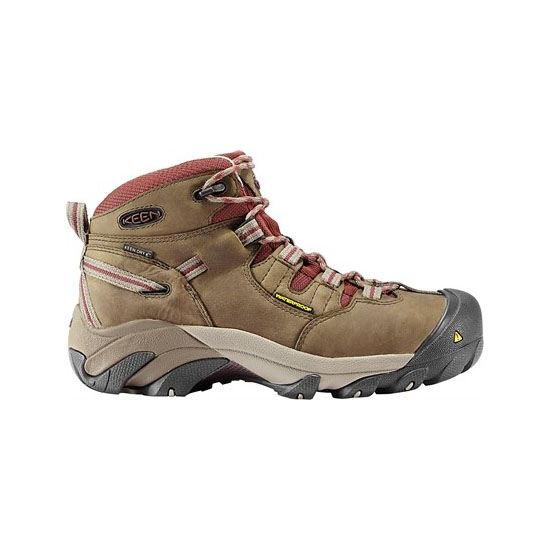 KEEN Women black olive/madder brown DETROIT MID Outlet Store